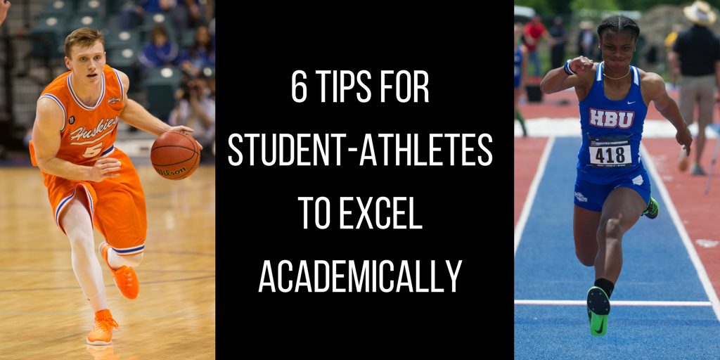 6 Tips for Student-Athletes to Excel Academically