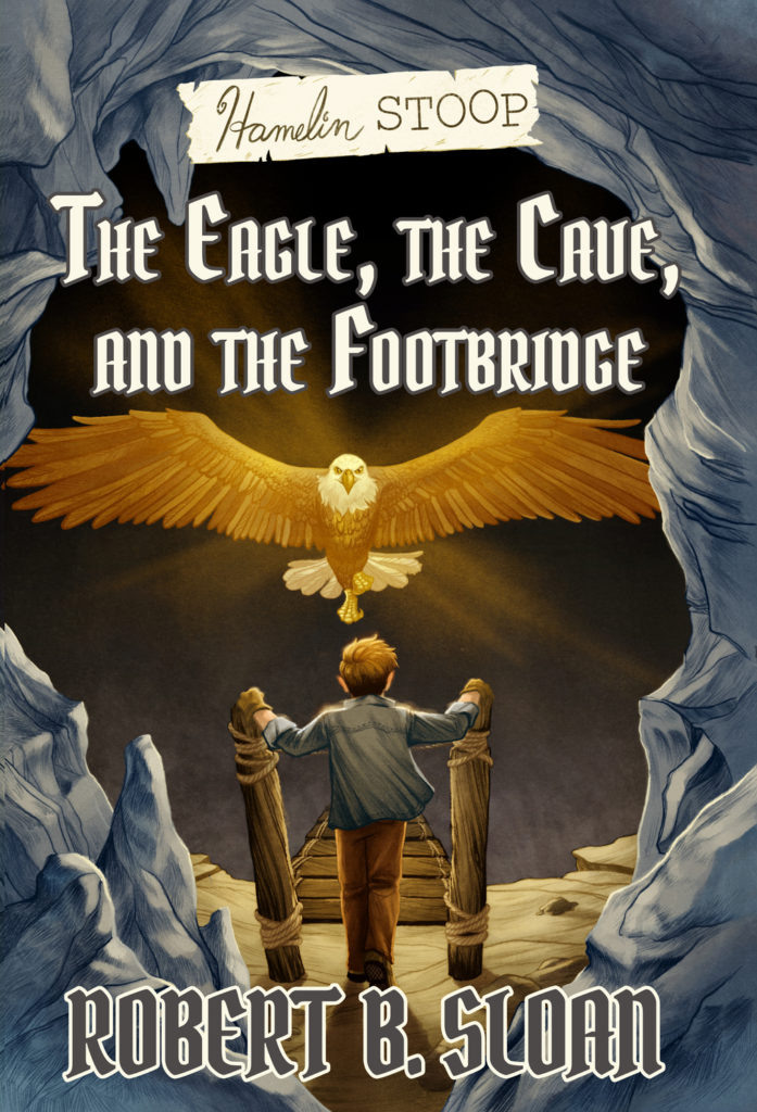 Hamelin-stoop-eagle-cave-footbridge-cover-young-adult-middle-grade-fantasy