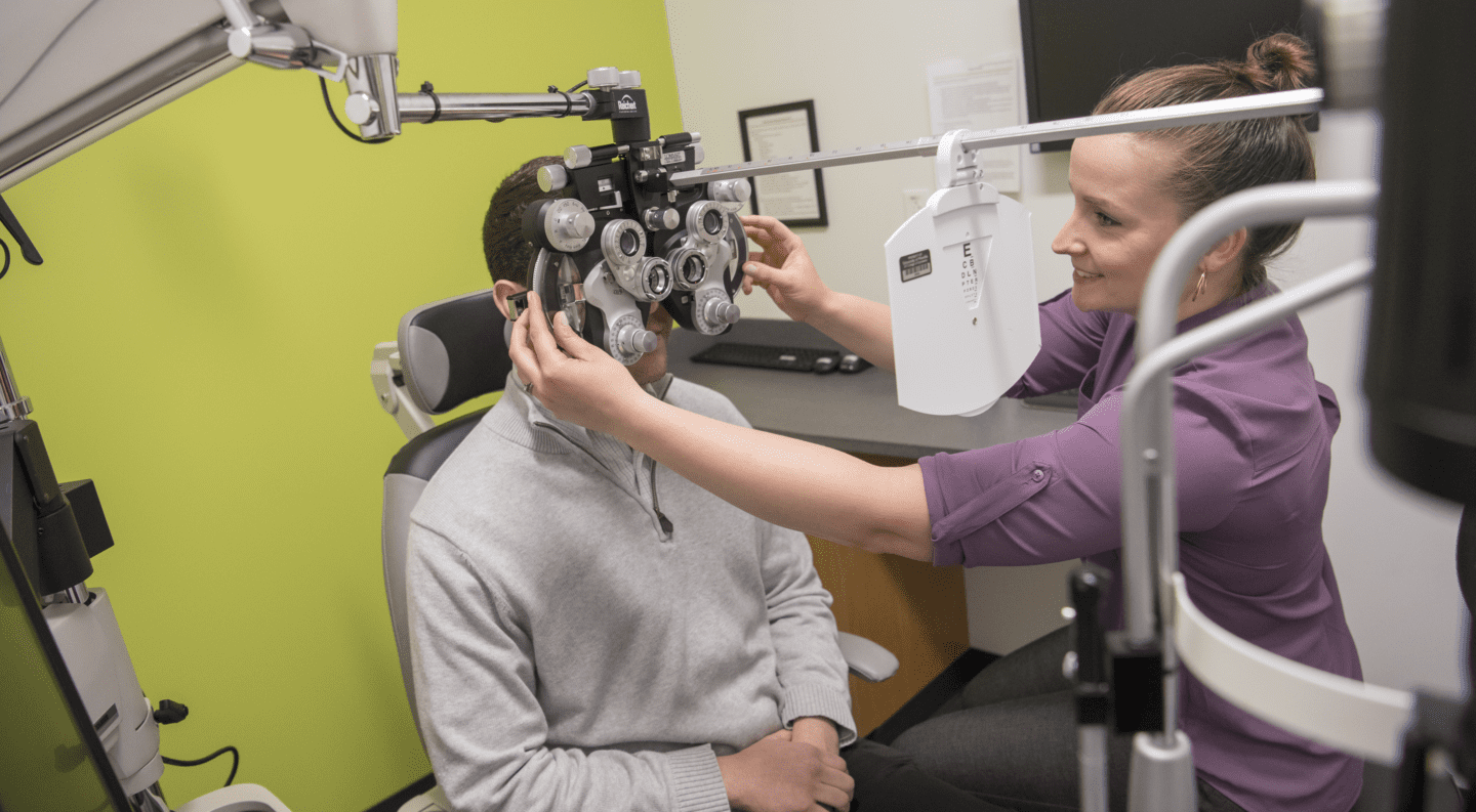 Photo of UPIKE's Kentucky College of Optometry equipment
