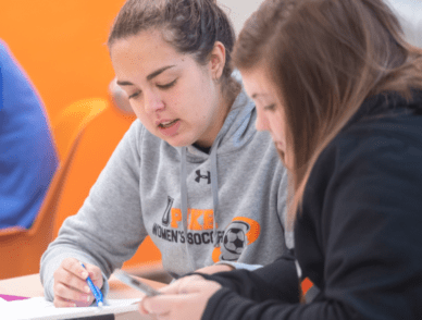 UPIKE students in the classroom