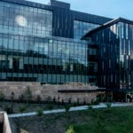 panoramic photo of the health professions education building