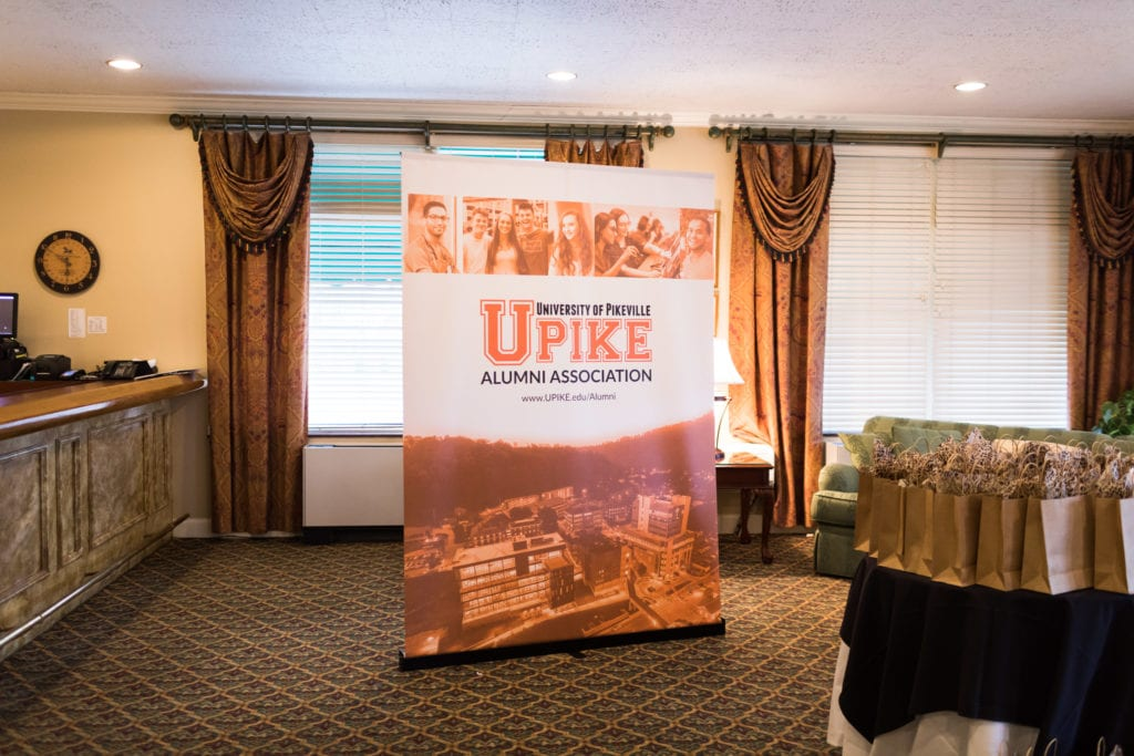 UPIKE event sign