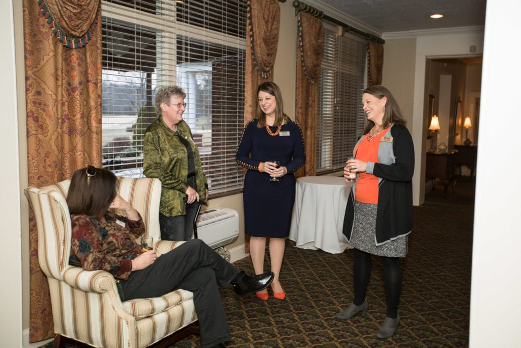 UPIKE Provost with guests