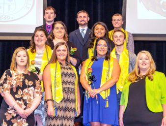 UPIKE social work program graduates