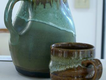 ceramic pieces created by alumni artist Brittany Shepherd