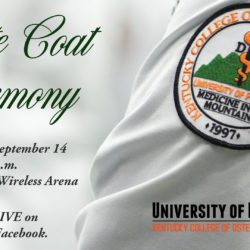 KYCOM White Coat Ceremony Invitation