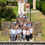 KYCO class of 2023 on the UPIKE 99 steps