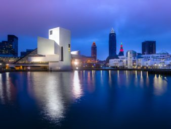 Cleveland City and Rock and Roll Hall of Fame