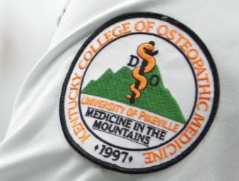 KYCOM white coat patch