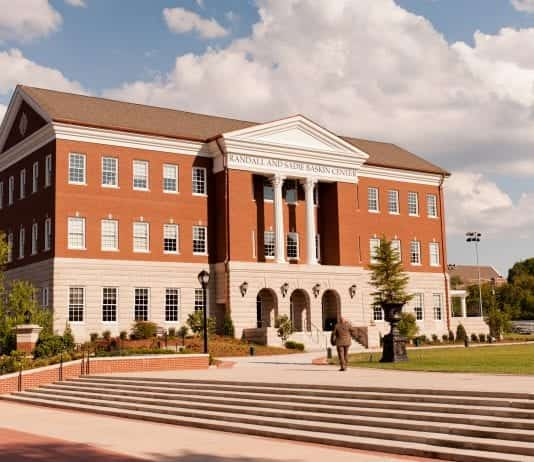 Stock photo of Baskin Center, home to Belmont Law
