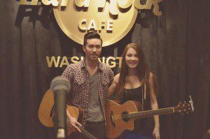 Emily Fullerton with Richard On of O.A.R.