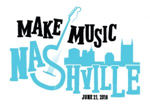 Make Music Nashville logo