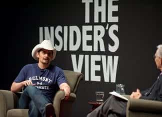 Brad Paisley speaking on campus in 2010
