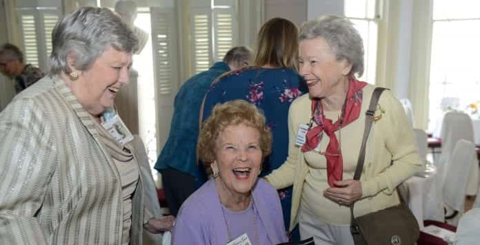 Ward Belmont alumnae spent time together laughing!