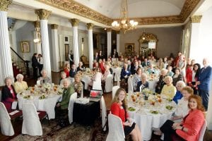 All attendees fill the Belmont Mansion during the Ward Belmont Reunion
