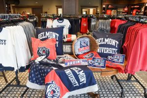 Clothing in the Belmont Store