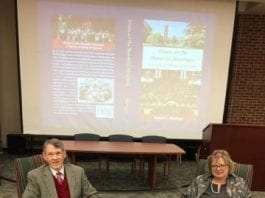 Shadinger hosts a convocation event about his book on March 22