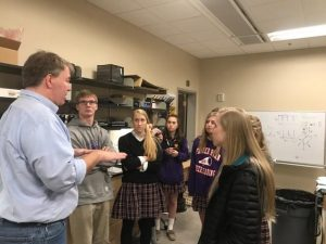 Students from Father Ryan learn from Belmont professors