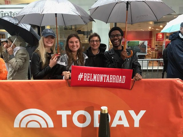 Maymester 2017 in NYC stopped by 'The Today Show'