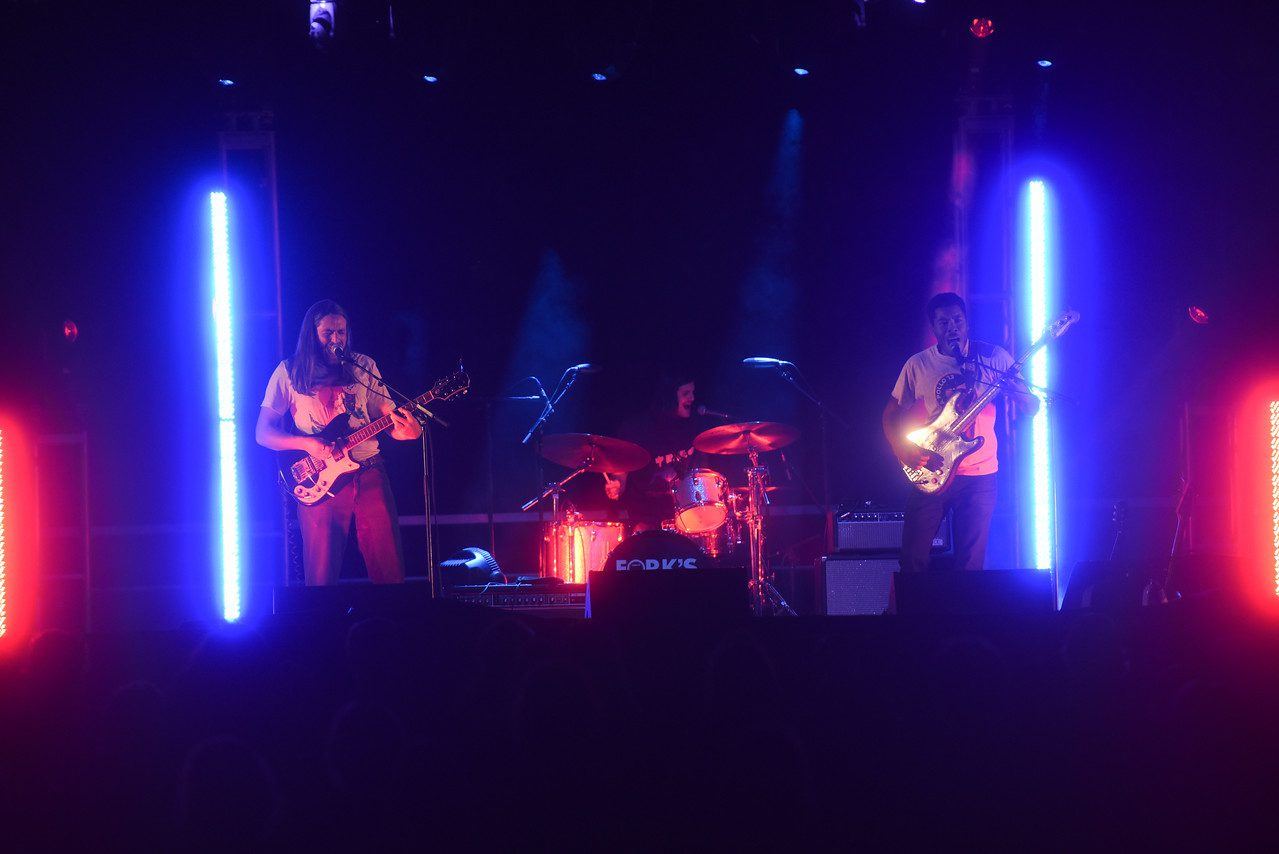 The Lonely Biscuits at Belmont University Aug. 26, 2017.