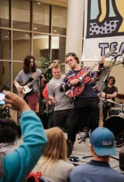 Participants perform at the Best Buddies Event held in the Beaman Student Life Center.
