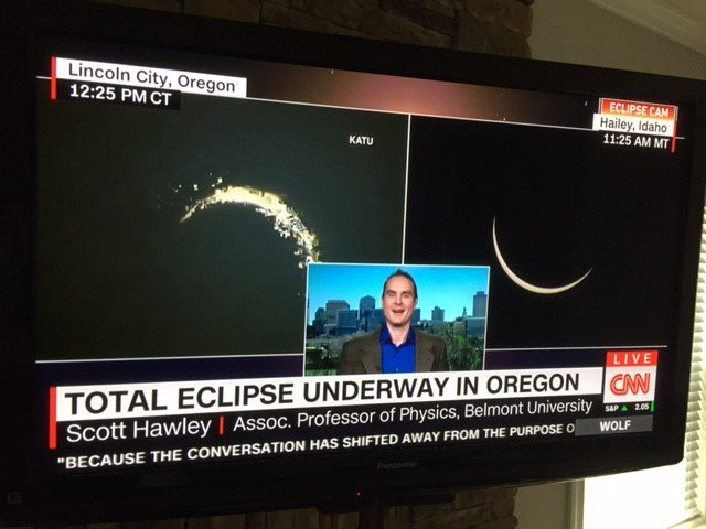 Scott Hawley on CNN