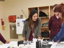 Spa Day and Science at Belmont University in Nashville, Tenn. October 27, 2017.