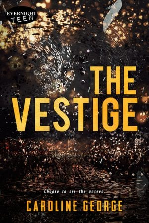 """The Vestige"" book cover, by Caroline George"