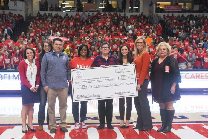 Check presentation for Belmont Cares Campaign