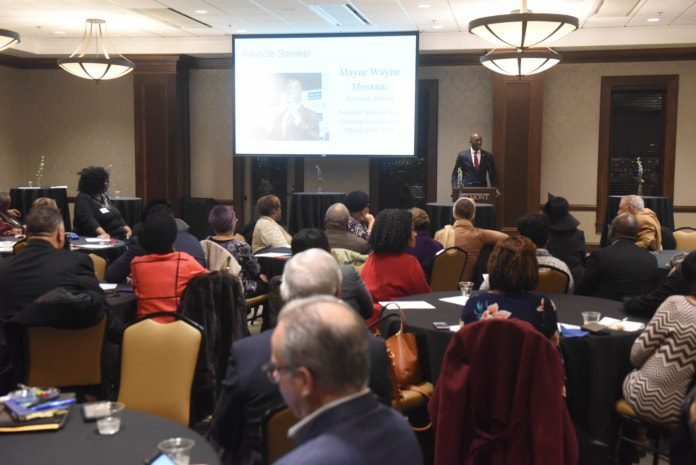 Metro Minority Caucus hosted by at Belmont University Nashville, Tennessee, February 12, 2018.