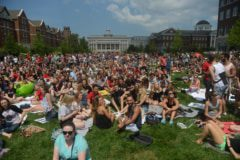 Thousands of students came to The Lawn to enjoy the 2017 Total Solar Eclipse.