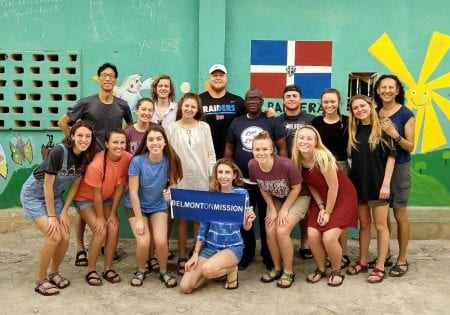 Dominican Republic Mission Trip Spring Break 2018 (Photo courtesy of Marnie Vanden Noven)