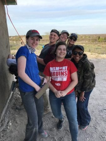 Acuna Mexico Mission Trip Spring Break 2018 (Photo courtesy of Tenia Miles)
