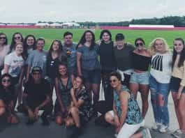 Belmont at Bonnaroo Group Shot