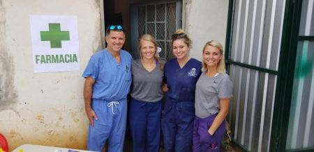 Team serving in Guatemala