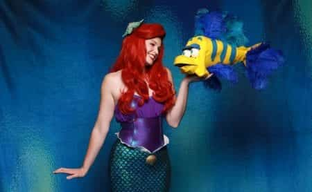 Catherine Birdsong as Ariel; Photo by Michael Scott Evans