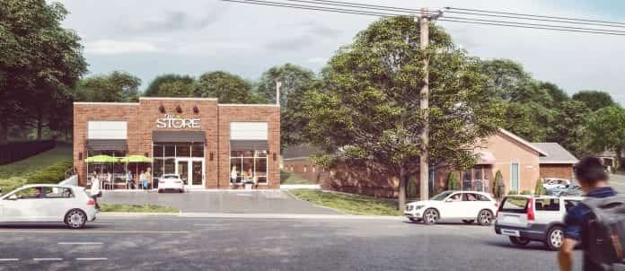 New Store Rendering