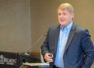 Dennis Cooke Speaks at Belmont University