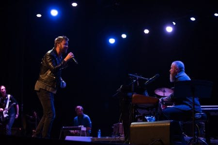 Charles Kelley performs with Jonathon Long at Curtain Call Award Ceremony