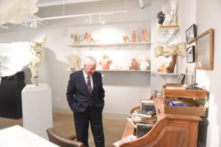 The Frederick Hart Museum grand opening at Belmont University in Nashville, Tennessee, March 28, 2019.