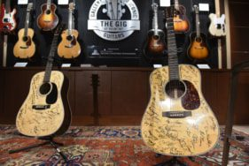 Guitars signed by 76 of the 101 country artists interviewed for Ken Burns's highly anticipated eight-part, 16-hour documentary, COUNTRY MUSIC.