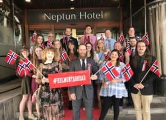 Belmont Students in Norway for Maymester Trip