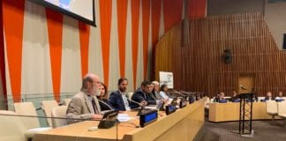 Jeff Cornwall at United Nations