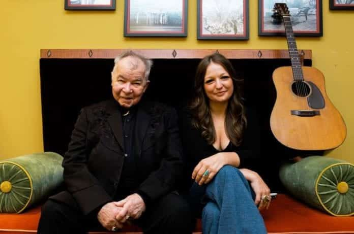 John Prine and Kelsey Waldon