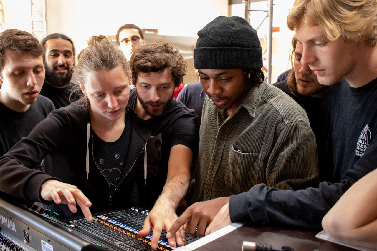 Audio Engineering Students in Germany and France
