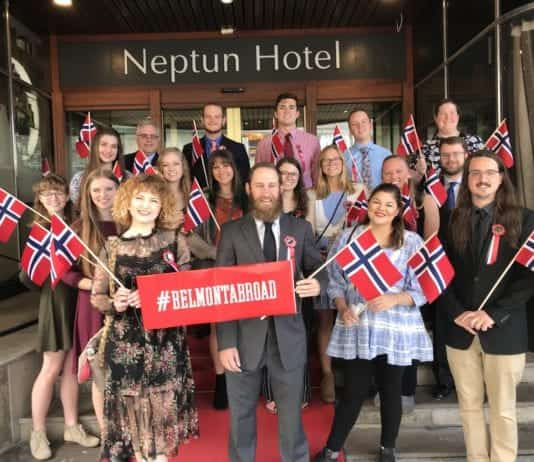 Belmont Students in Norway