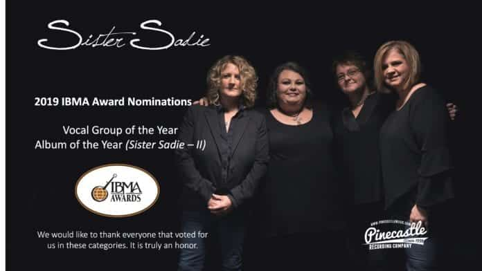 Sister Sadie IMBA nomination graphic