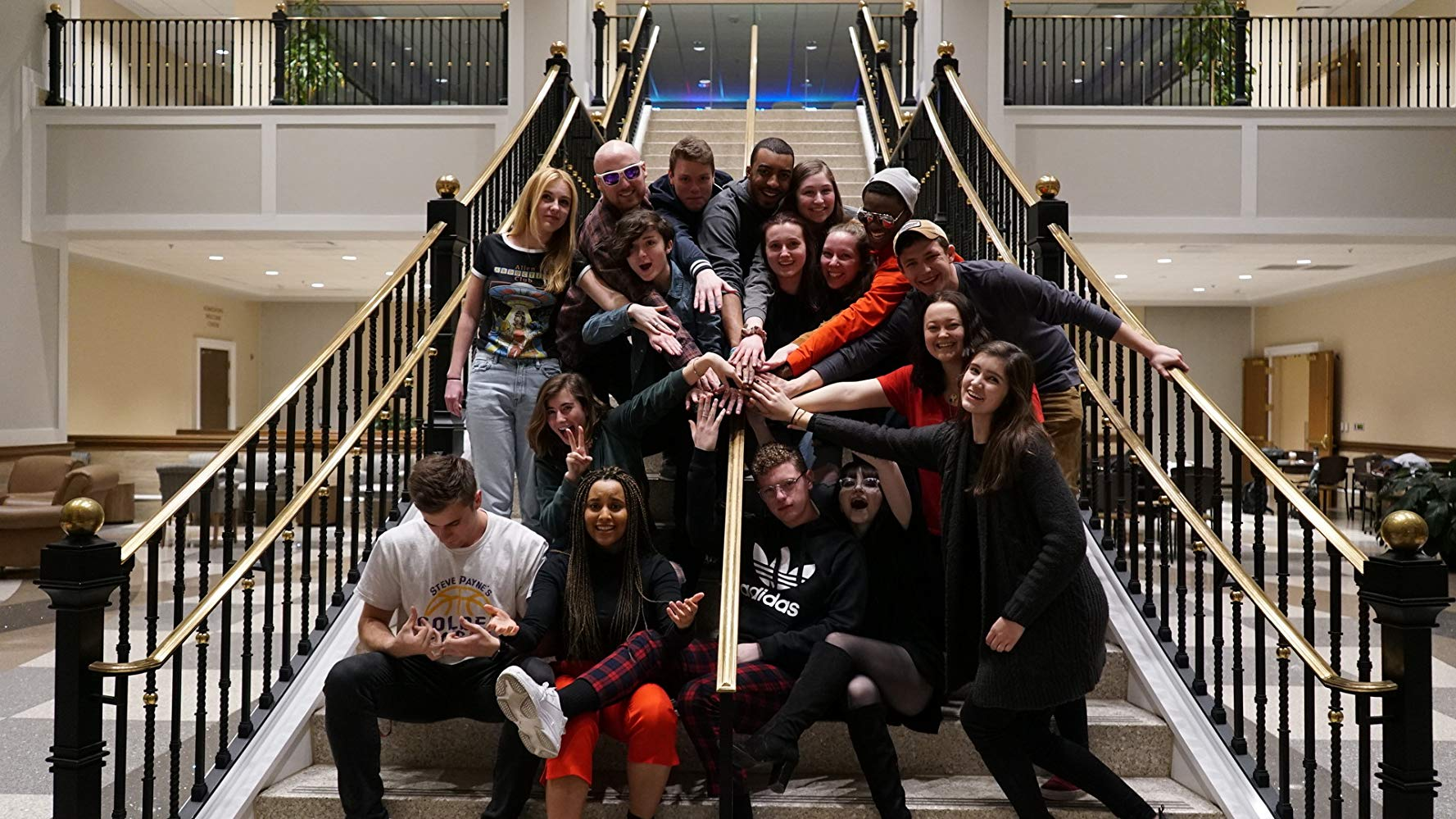 Motion Pictures students group picture