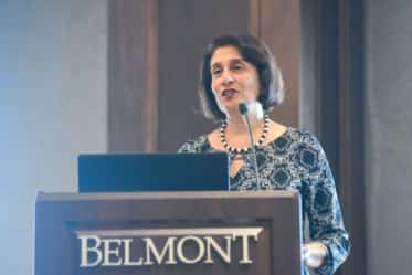 Dr. Rohini Anand speaks at the Diversity and Inclusion summit
