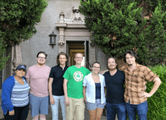 Students and Faculty at Standford Workshop